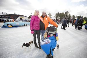 Familjen Magnusson André såg fram emot en fartfylld dag.