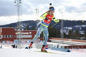 Peppe Femling blev lottlös vid VC-sprinten. En 80:e-plats var långt ifrån vad han hade hoppats på.