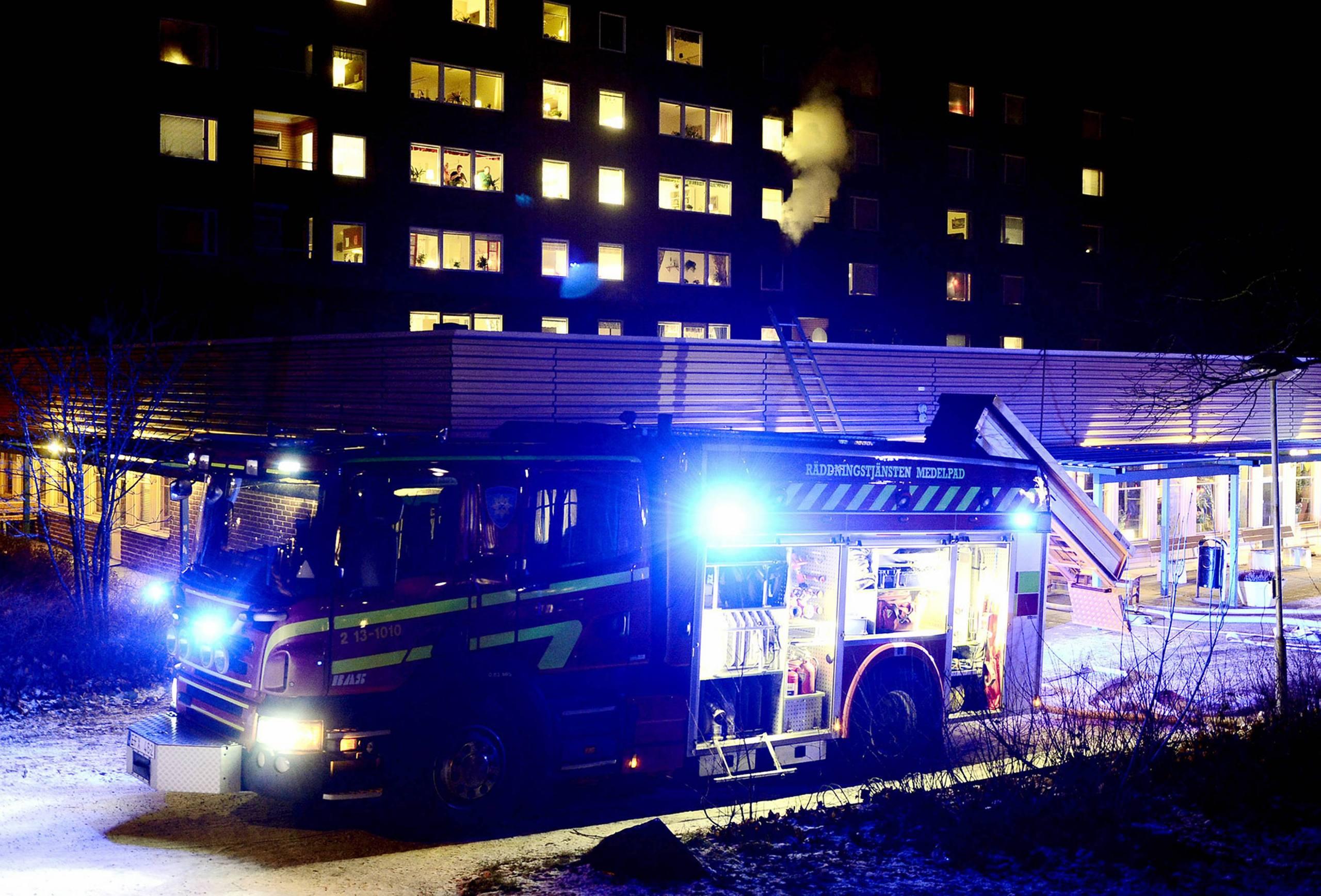 Brand i seniorboende kravde ett liv
