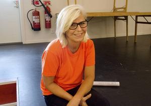 Lena Karlström Backskog berömmer sammanhållningen och uppslutningen i byn kring tävlingen.
