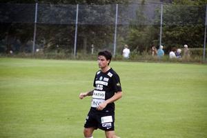 Diego Montiel för VSK Fotboll i Svenska cupen 2014.