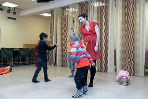 Det har varit kul att arbeta med projektet. Jag har lyssnat på vad barnen själva säger och utgått från det, säger koreograf och danspedagog Sophia Färlin Månsson, som även tidigare har undervisat och koreograferat barn i förskolan.
