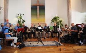 De duktiga musikerna är viktiga och flera av dem återkommer år från år. Foto: Eva Högkvist