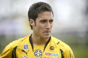 Blickar mot landslaget. Niklas Backman - här i Skiljebostället från 2007 - kan snart dra på sig landslagsstället då han blivit uttagen till U21 efter lyckade matcher i nuvarande klubben AIK.