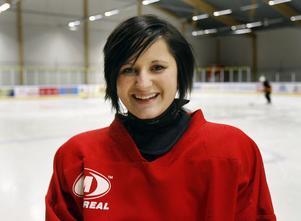 Ida Johansson ser fram emot en spännande helg på en hockeycamp i Nordmaling, Ångermanland.