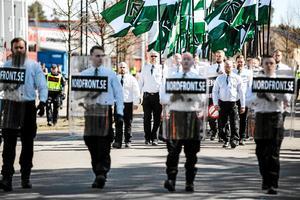 NMR:s demonstration i Falun under 1 maj förra året.