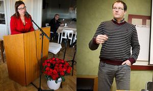 Anna-Caren Sätherberg och Gunnar Sandberg