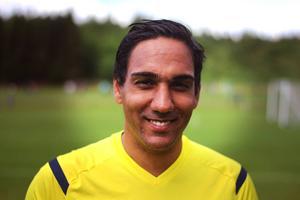David Olovsson från Piteå, 25, gör sitt femte år i följd på Storsjöcupen. Dömt fotboll har han gjort i drygt tolv år.