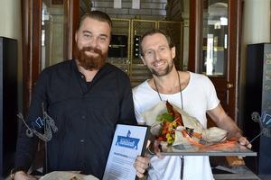 André Berglund och Tord Budenberg startade Udda Tapas tillsammans, som blev lite av början på den restaurangvåg som sköljt över Stenstan.
