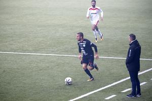 Rinor Nushi gjorde hattrick för VSK och har därmed gjort fem mål på sina åtta matcher för Grönvitt.