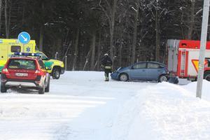 Tre bilar var med i en olycka i Avesta under fredagen.