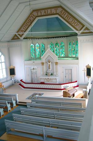 I Gåxsjö kyrka öppnar utställningen
