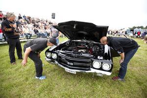 Detaljer. I originalklasserna ska allting se ut som det gjorde när bilen konstruerades.