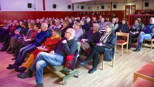 Många ville se Babben i Ytterhogdal.