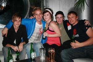 Silk. Jonathan, Mathias, Paolina, Martin och Martin