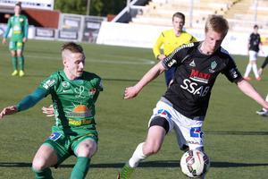 Dalkurds Adam Persson och Brages Pontus Hindrikes.