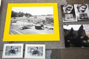 Fotografier som ingår i Lena Séraphins del av utställningen.