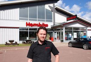 Stefan Brunsärn har all anledning att vara nöjd. Han driver Sveriges lönsammaste butik.
