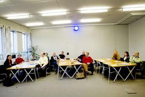 Styrgruppen. Här samlas styrgruppen för Teknikcollege i Gästrikland.