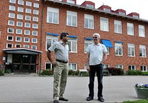 Abbas Khanahmadi blir ny rektor på Bäckedals folkhögskola och tror på dess framtid.Foto: Sandra Wåger