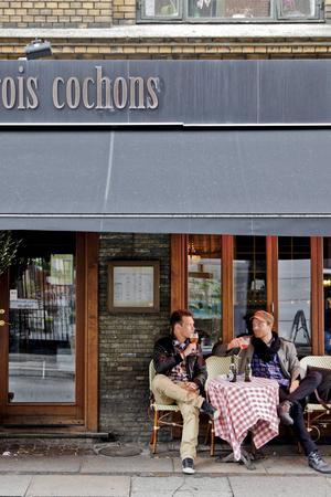 Öl och smörrebröd - två klassiker i Köpenhamn.    Foto: Annika Goldhammer