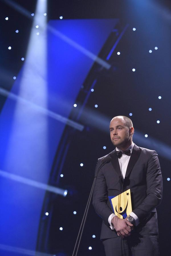 ... det var skidlandslagets Rikard Grip som fick utmärkelsen som Årets ledare på Idrottsgalan i måndags.