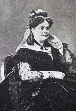 Grycksbo pappersbruk är också pionjärar på kvinnligt ledarskap, Augusta Munktell (1818-1889)