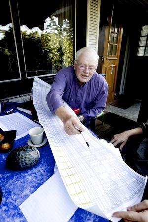 För fyra år sedan bestämde sig Lasse Jansson för att gå ned i vikt och började promenera. Statistikintresserad som han är satte han på sig en stegmätare och antecknade varje dag antal steg och sträckan han hade gått. På 23 veckor gick han ned 24 kilo. Hur långt han gick? 207 mil på ett år.