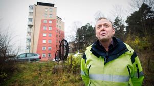 Tommy Grönberg, produktionschef Telge bostäder.
