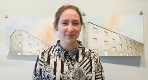 Sofie Notstrand. Personligt ledord till sina verk: Fasader.
