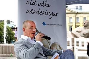 Sverigedemokraternas  Björn Söder.