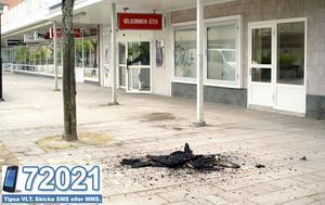 Restaurang En trappa upp i Hallstahammar började brinna natten till torsdag den 2 juni.