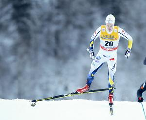 Jens Burman slutade tolva på lördagens femmil i Holmenkollen.