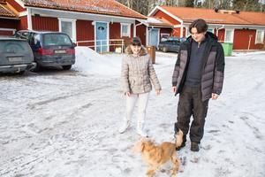 När familjen Varakuta flydde från Ukraina fick hunden Snoopa följa med. När Ganna, Vlad, barnen Artem och Valeriia nu utvisas får hunden följa med tillbaka.