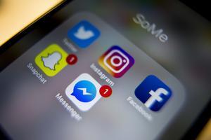 Snapchat, Instagram och Facebook är några av de appar som tar mycket uppmärksamhet.