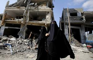 Hamas som styr i Gaza förtrycker den kvinnliga befolkningen.