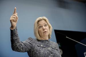 Finansminister Magdalena Andersson behöver ta Alliansens utsträckta hand för en stark svensk ekonomi även i framtiden.