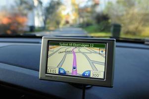 GPS-utrustning har orsakat incidenter för tio procent av bilisterna i storstäder.