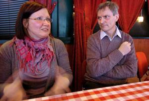 Veronica Snar tillsammans med sin mentor Leif Karlsson. Båda är nöjda med det gångna året.