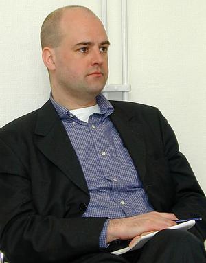 Fredrik Reinfeldt. Foto: Börje Lindh