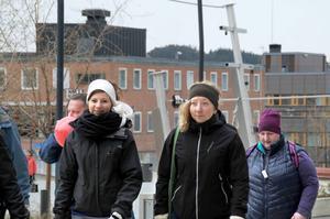 Erika Hansson Kontio och Sara Eriksson är nybörjare i Hjärnkoll-sammanhang.
