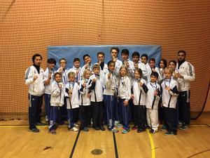 Soo Shim Gävle skickade en framgåbngrik trupp till Kramfors och Regionsmästerskapet i Teakwondo. Många kom hem med medaljer.