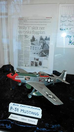 P-51 Mustang - flygaresset William Yngve Anderssons plan.