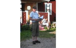 Ollas Hans vid Bergviksgården Foto: