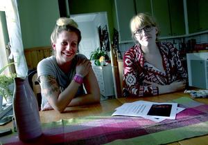 Lina Svedin och Elin Fredriksson bjuder in Gudrun Schyman till Ljusdal för att prata feminism.