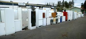 Länsborna är duktiga på lämna förbrukade varor till återvinning.