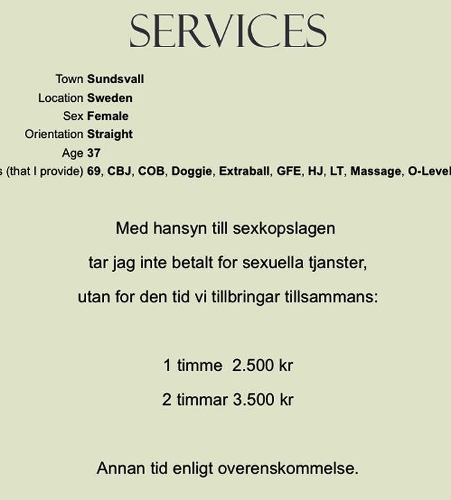 massage hemma stockholm eskort sundsvall
