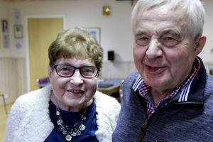 I över 60 år har Iris och Sture Lundin varit ett par, och de var båda djupt rörda över det hedersamma utnämnandet.