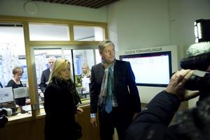 Dystert i Trollhättan. Saabs ordförande Victor Muller lämnade in konkursansökan till Vänersborgs tingsrätt i går.