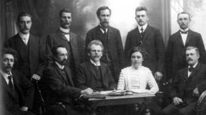 FIASKO. Maja Skoglund var enda kvinnan i den strejkkommitté som fackföreningarna i Gävle skapade när storstrejken bröt ut på sommaren 1909. Den var en av världshistoriens största arbetsmarknadskonflikter och slutade i ett totalt nederlag för den unga arbetarrörelsen.